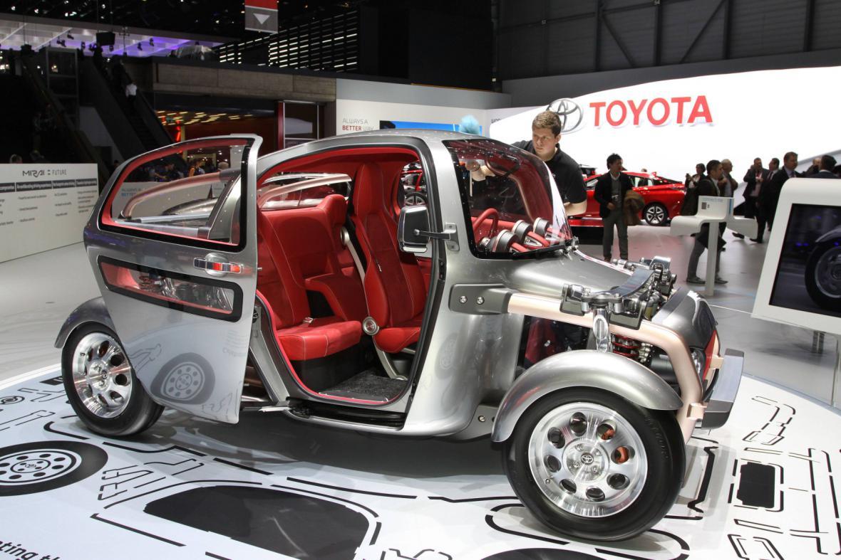 Koncept vozu Toyota Kikai