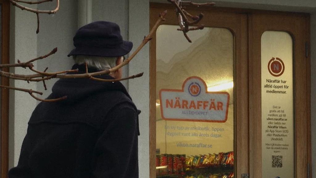 Švédský obchod s netradičním konceptem obsluhy