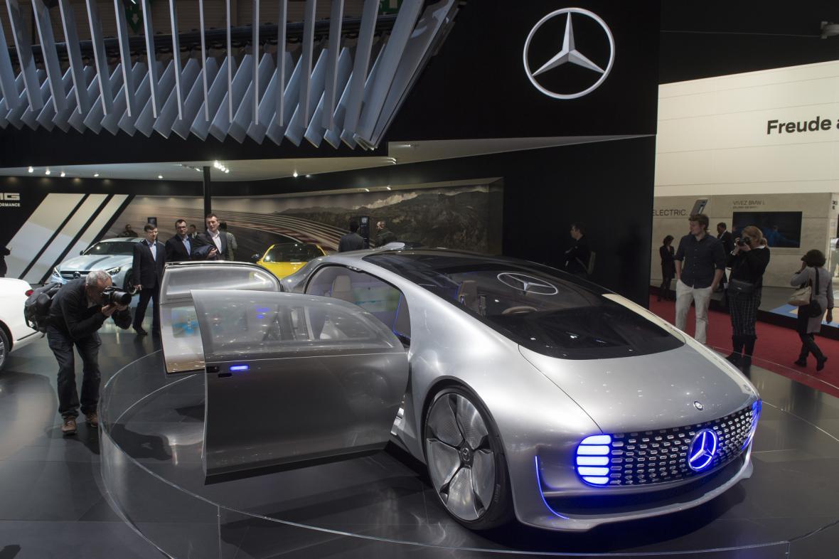 Koncept vozu od Mercedesu