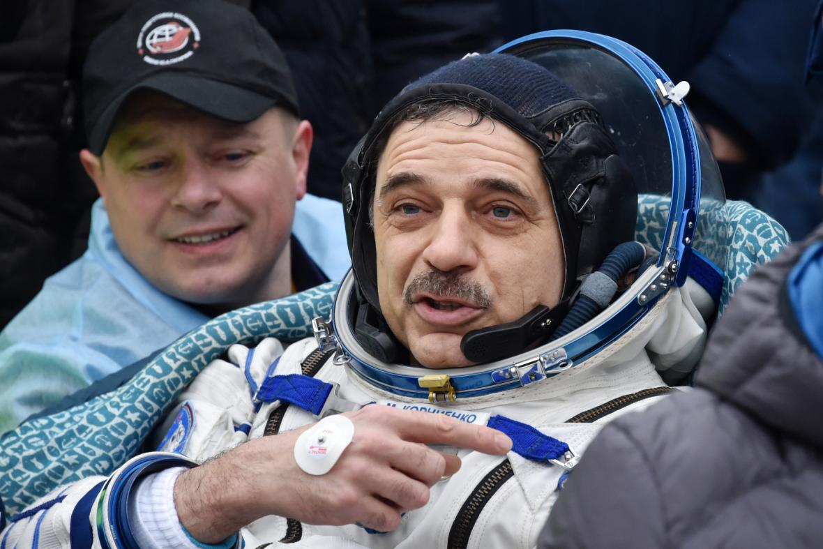 Astronaut Michail Kornijenko