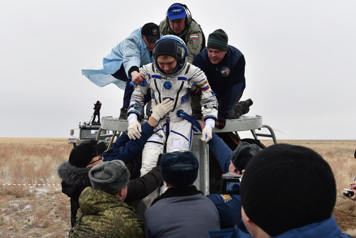 Astronaut Sergej Volkov