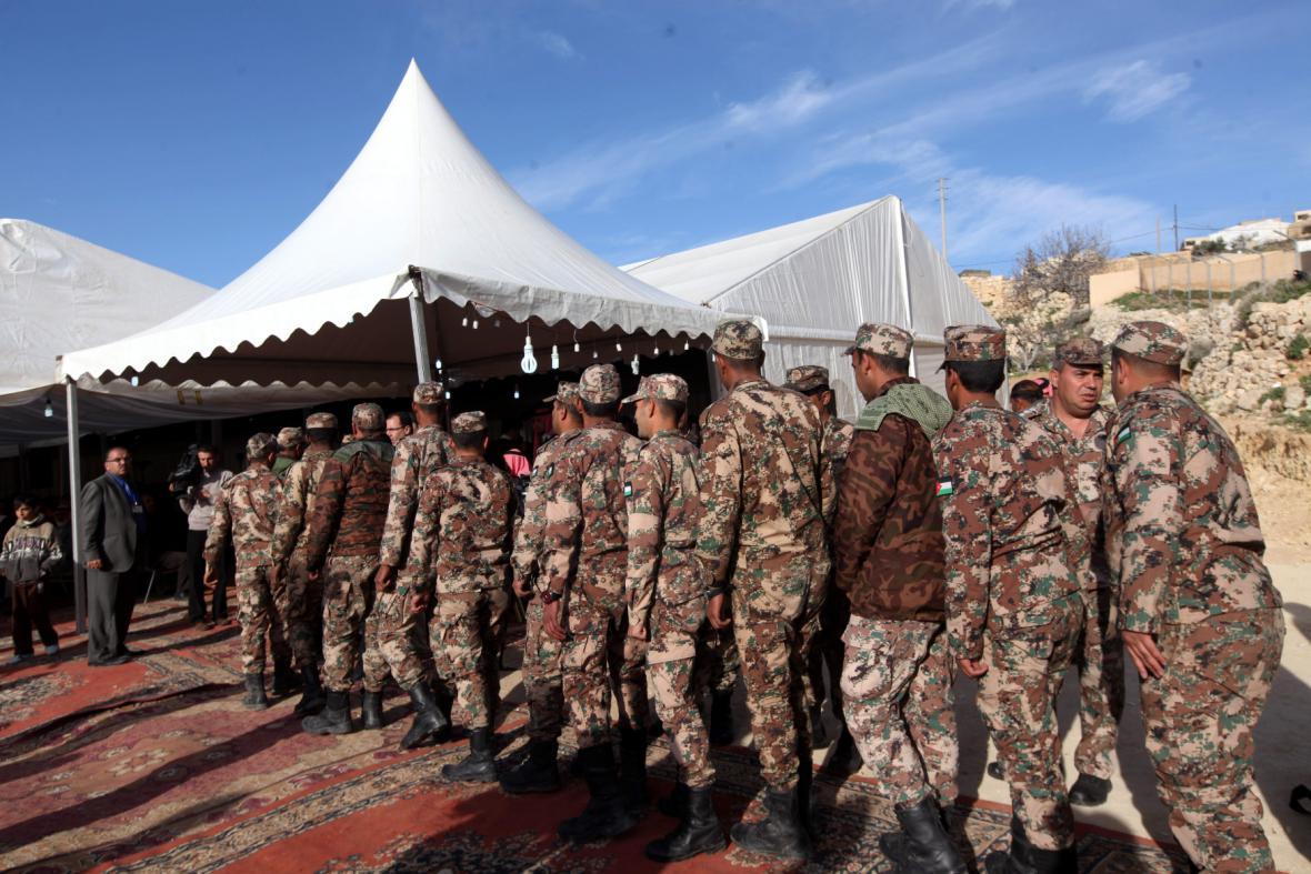 Jordánští vojáci