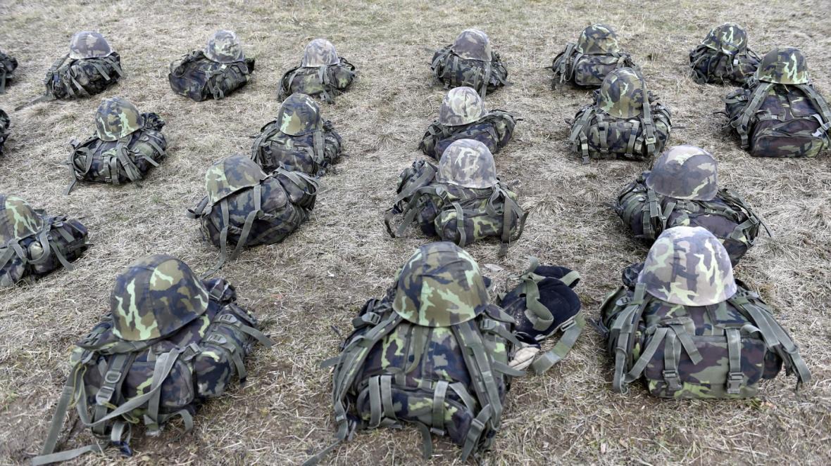 Cvičení české armády