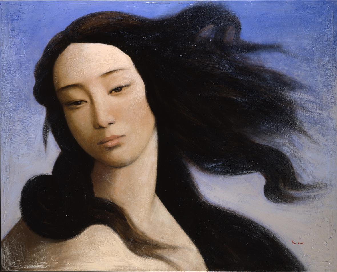 Yin Xin / Venuše, po Botticellim, 2008
