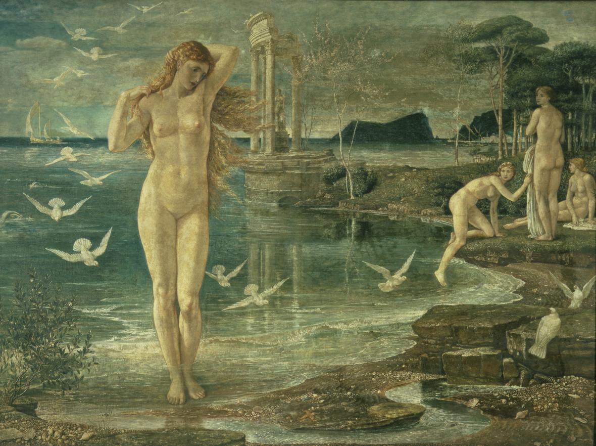 Walter Crane / Renesance Venuše, 1877