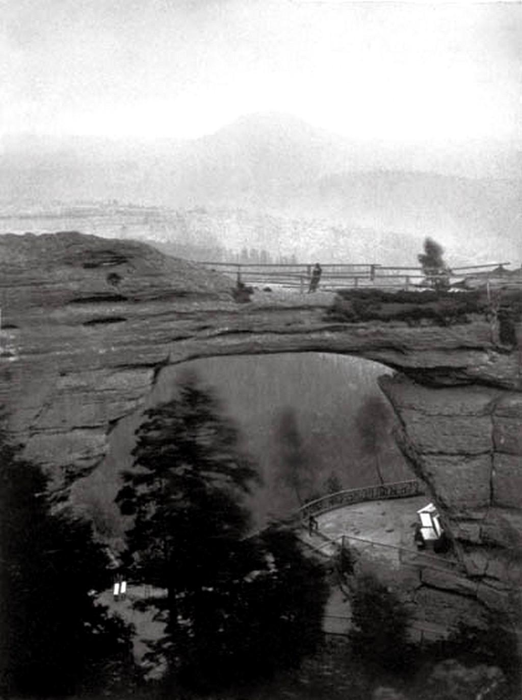 Pravčická brána v roce 1853