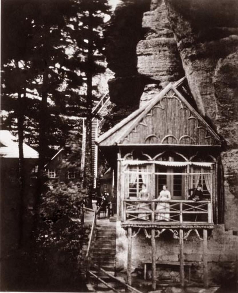 Výčep pod Pravčickou branou v roce 1853
