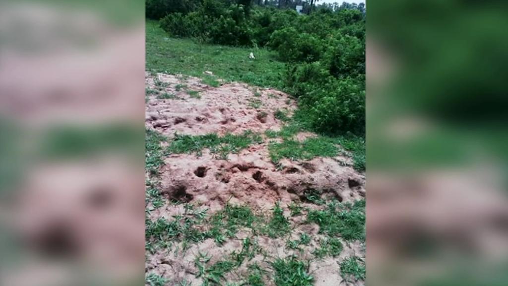 Masové hroby v Burundi