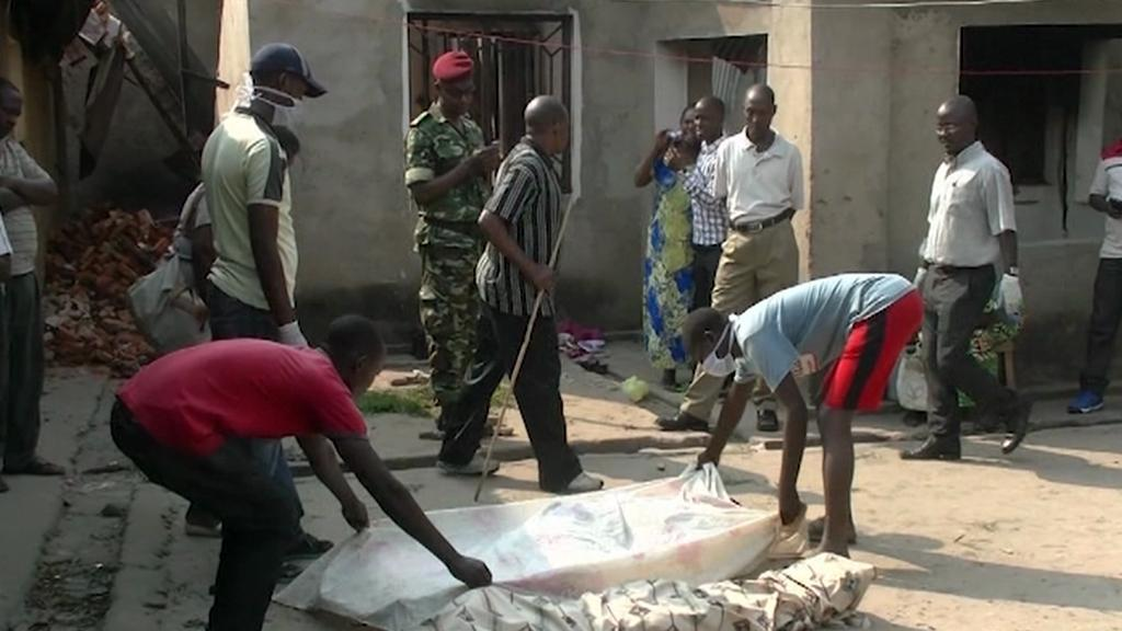 Násilí v Burundi