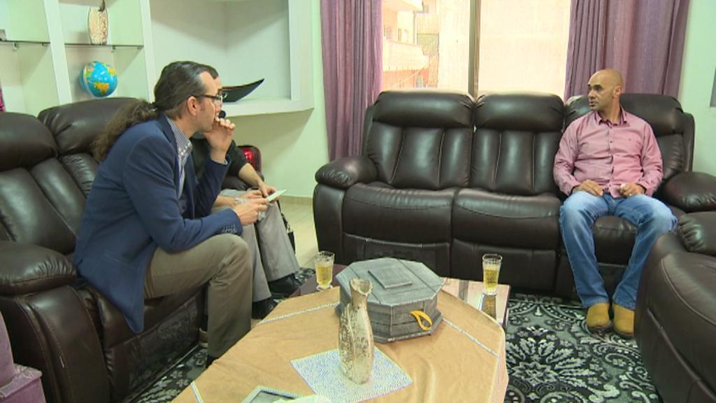 Palestinec popisuje strádání po nešťastném zranění