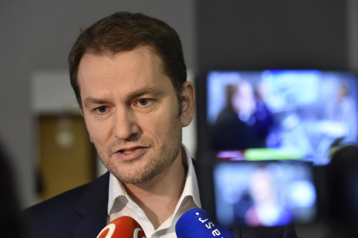 Šéf hnutí OĽaNO-Nova Igor Matovič