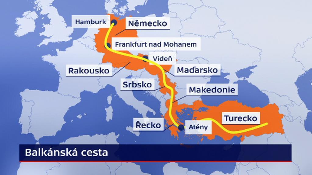 Balkánská cesta