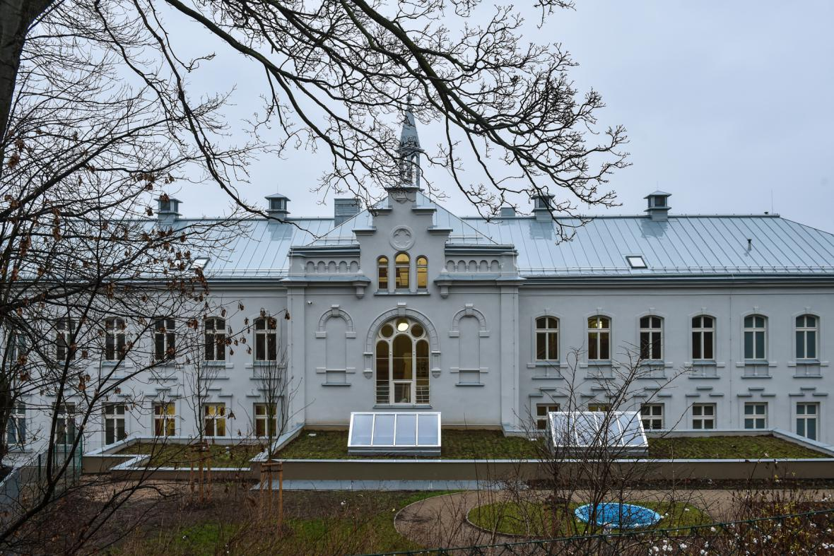 Liberecký hospic byl původně dětský domov