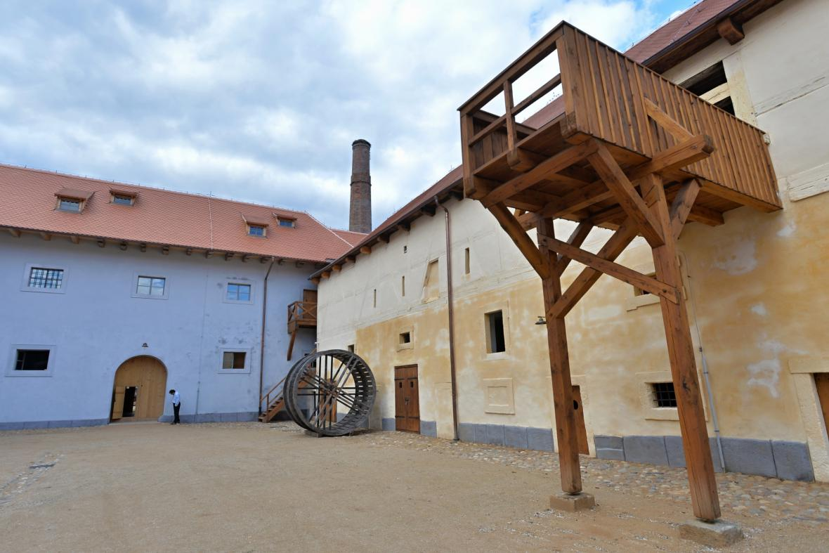 Centrum stavitelského dědictví v Plasích