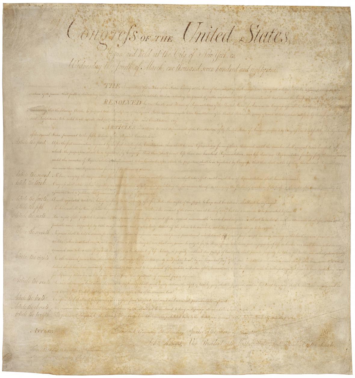 Americká Listina práv