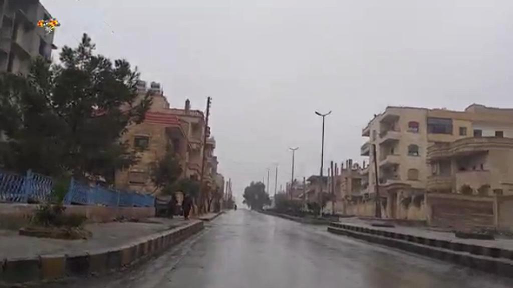 Opuštěné ulice Rakká