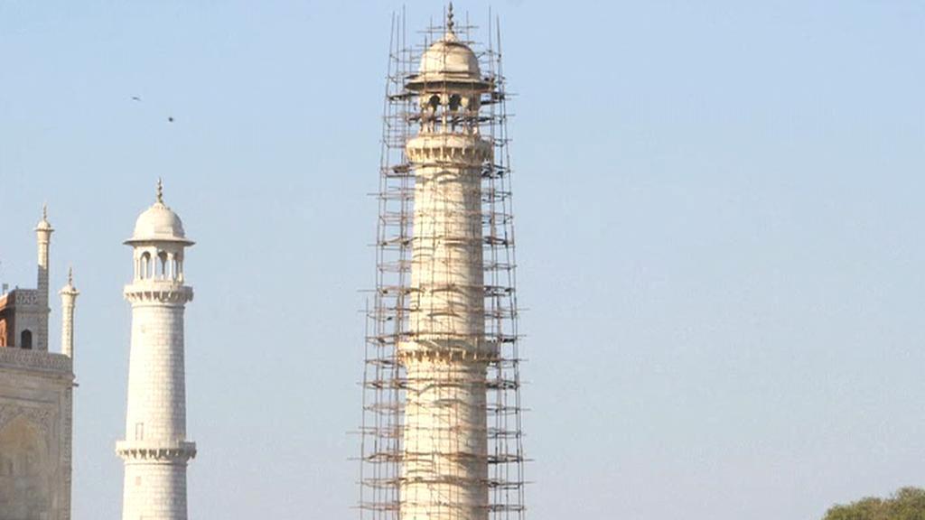 Renovace Tádž Mahalu