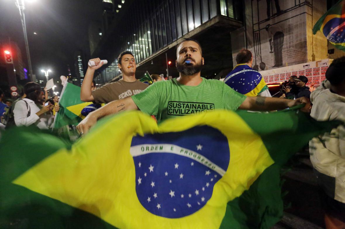 Demonstrace v brazilských městech