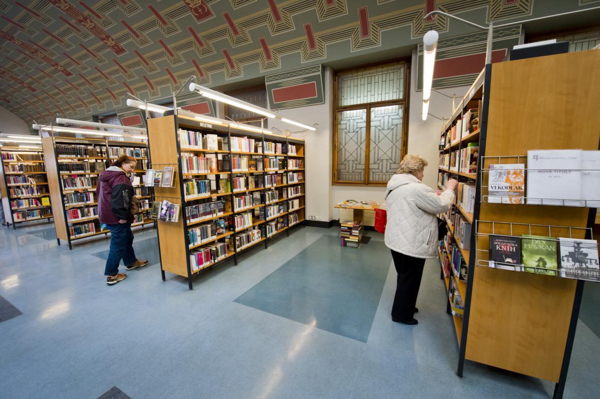 Městská knihovna v Praze