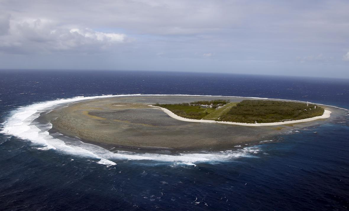 Ostrov poblíž australského Queenslandu