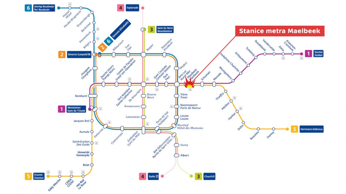 Stanice metra Maelbeek