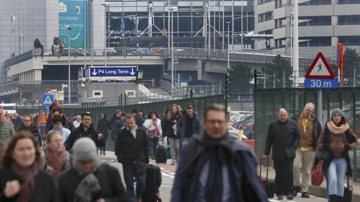 Výbuch na bruselském letišti