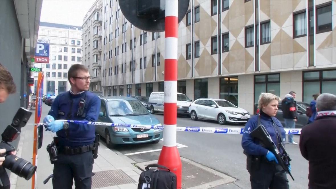 Výbuch v bruselském metru na stanici Maelbeek