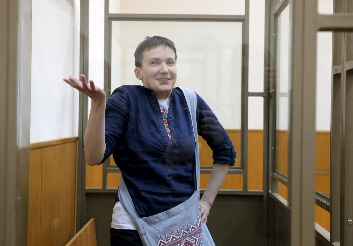 Savčenková před ruským soudem