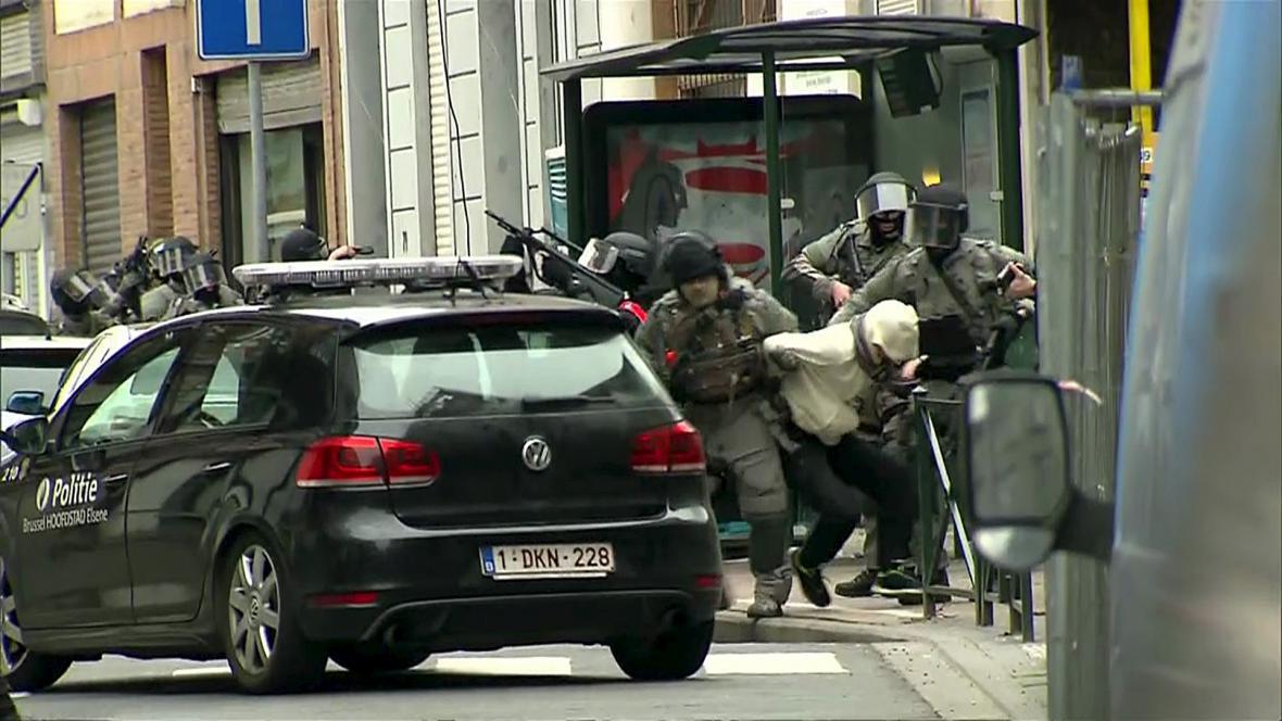 Policejní akce, při které byl zadržen Salah Abdeslam
