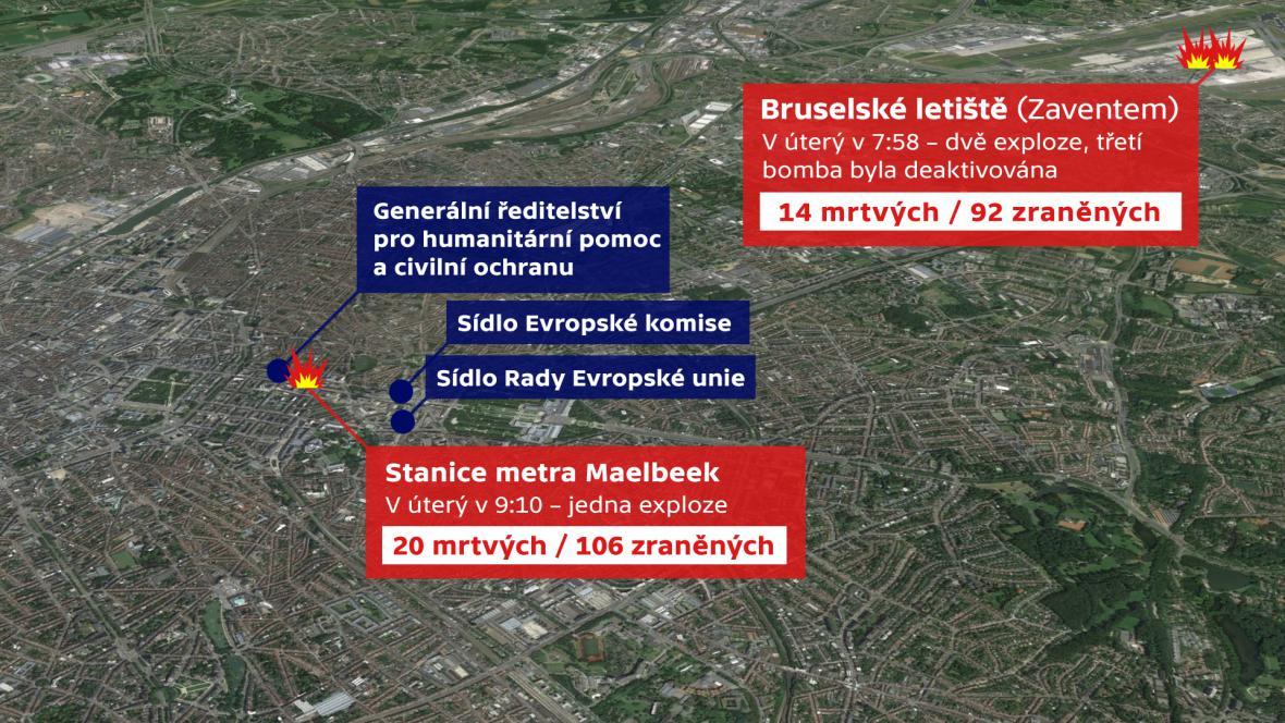 Útoky v Bruselu