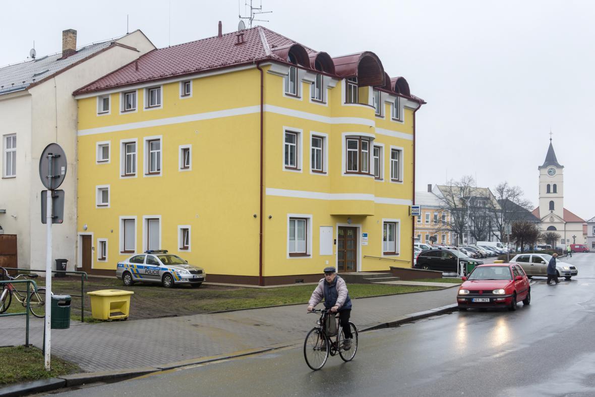 Nová policejní služebna v Týništi nad Orlicí