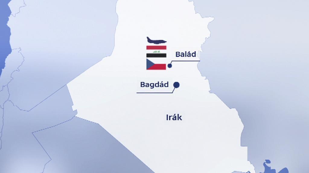 Irácká základna Balad