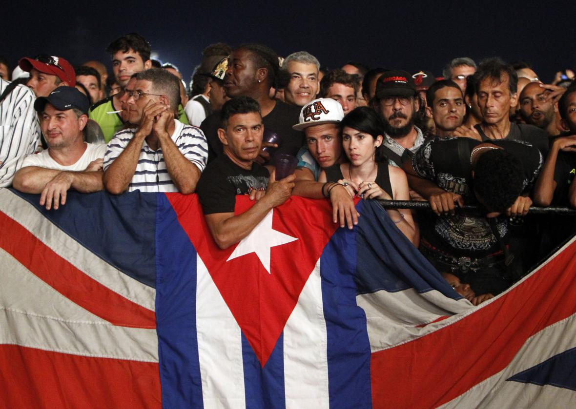 Koncert Rolling Stones na Kubě