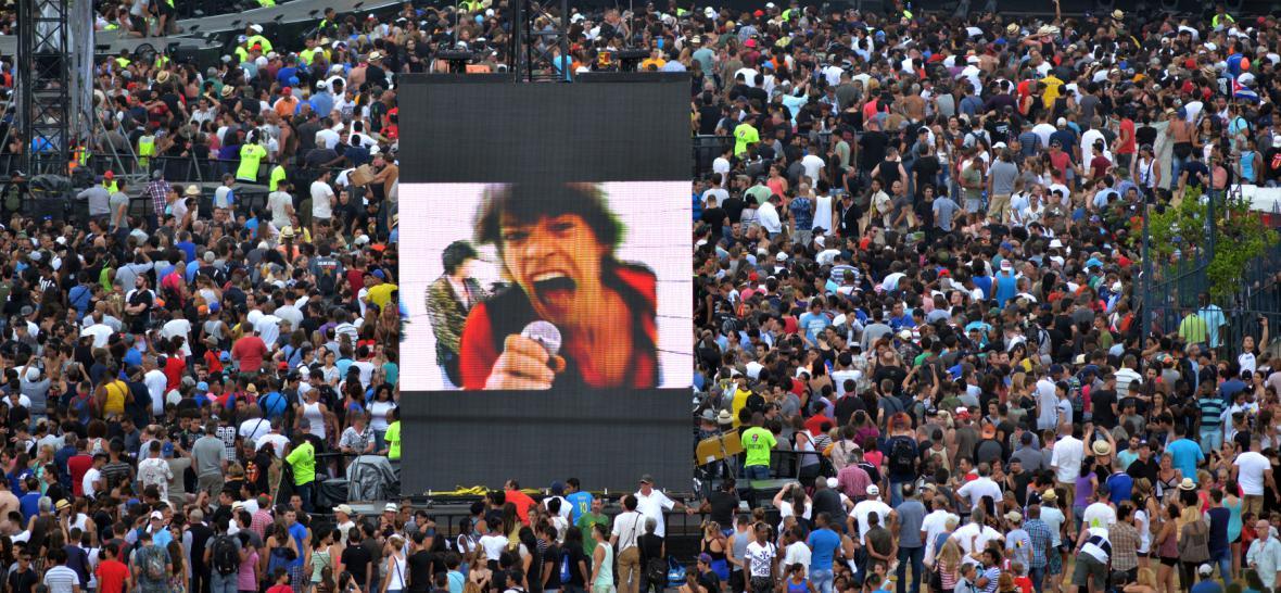Koncert Rolling Stones na