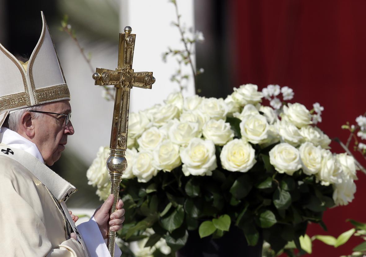 Papež František se připravuje na velikonoční požehnání