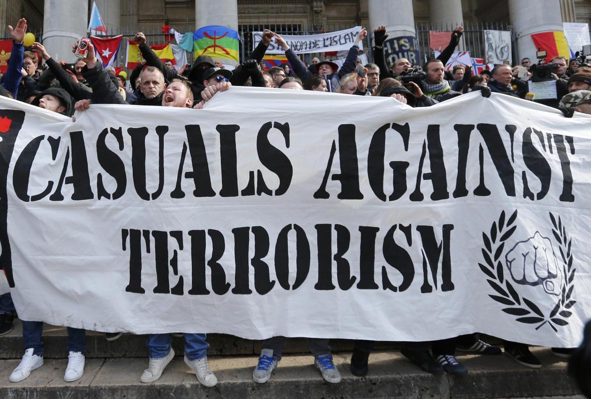 Krajní pravice v Bruselu