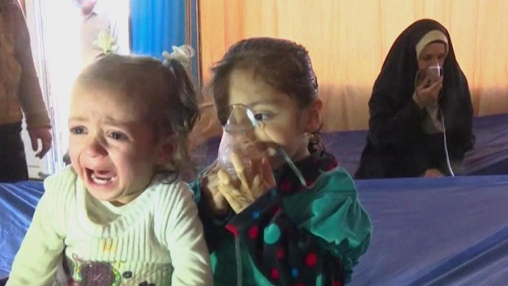Chemické útoky IS namířené proti Kurdům