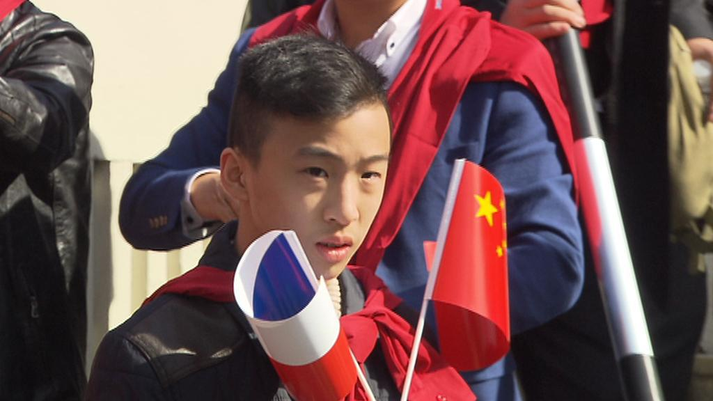 Číňané vítají Si Ťin-pchinga