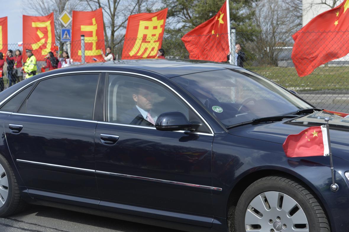 Čínská delegace