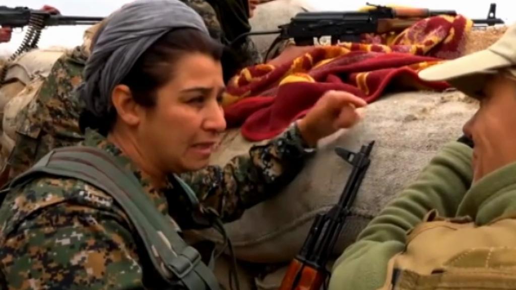 Kurdové při boji s Islámským státem