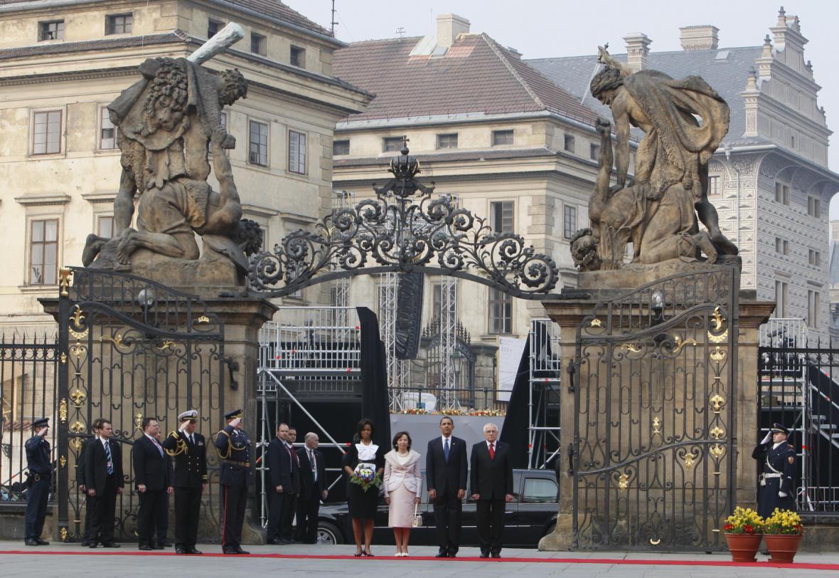 Návštěva Baracka Obamy v Praze