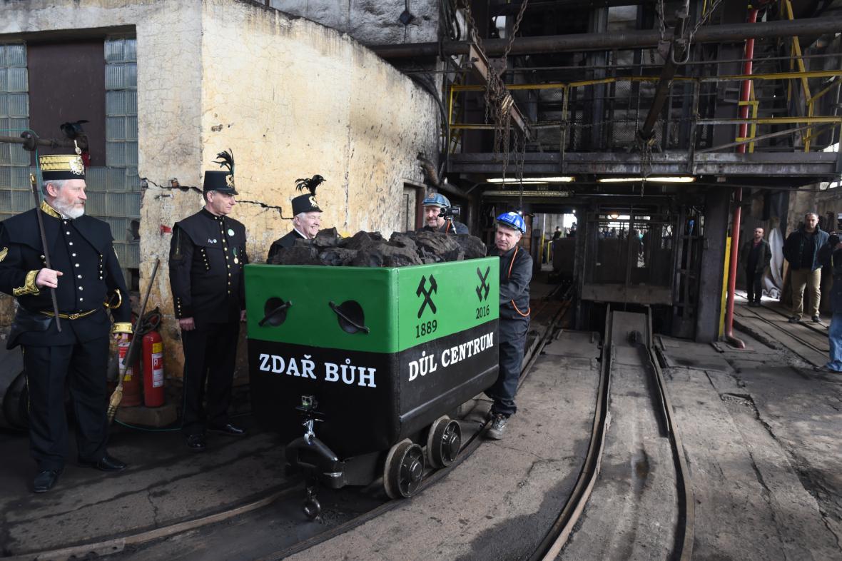 Důl Centrum: Poslední vůz uhlí