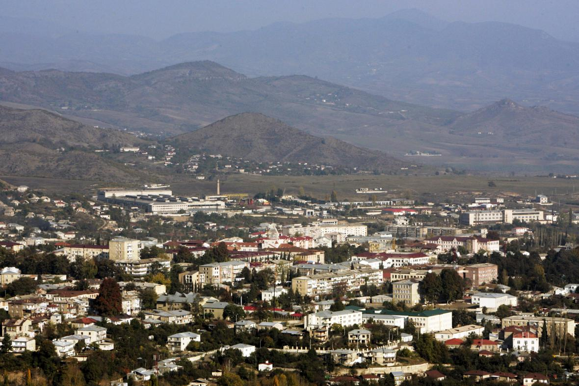 Stěpankert, hlavní město Náhorního Karabachu