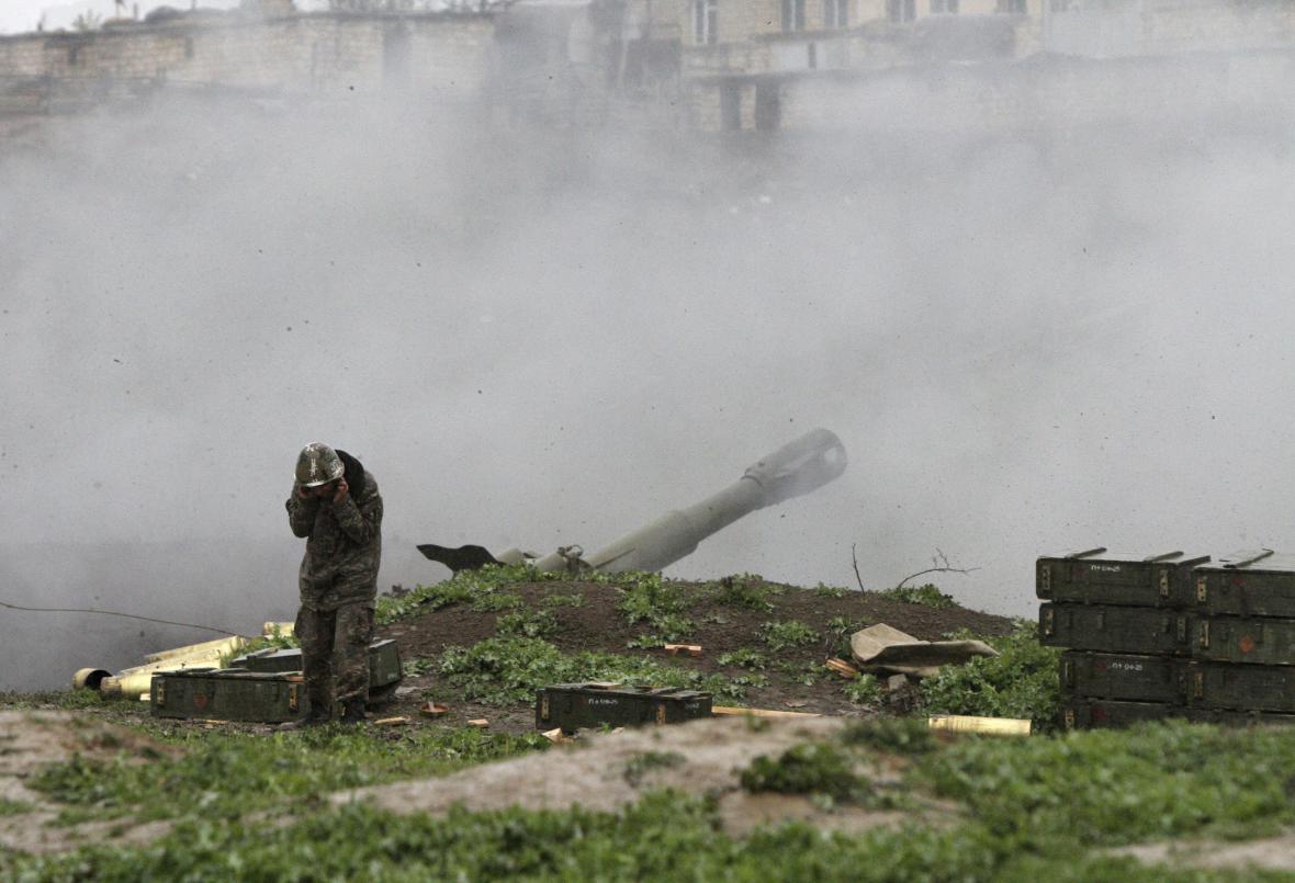 Boje u Národního Karabachu