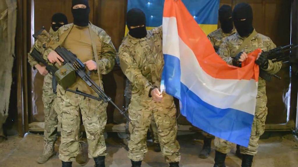Záběr z propagandistického videa