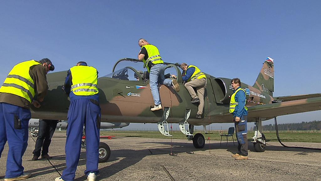 Letecké zkoušky L-39 Albatros NG
