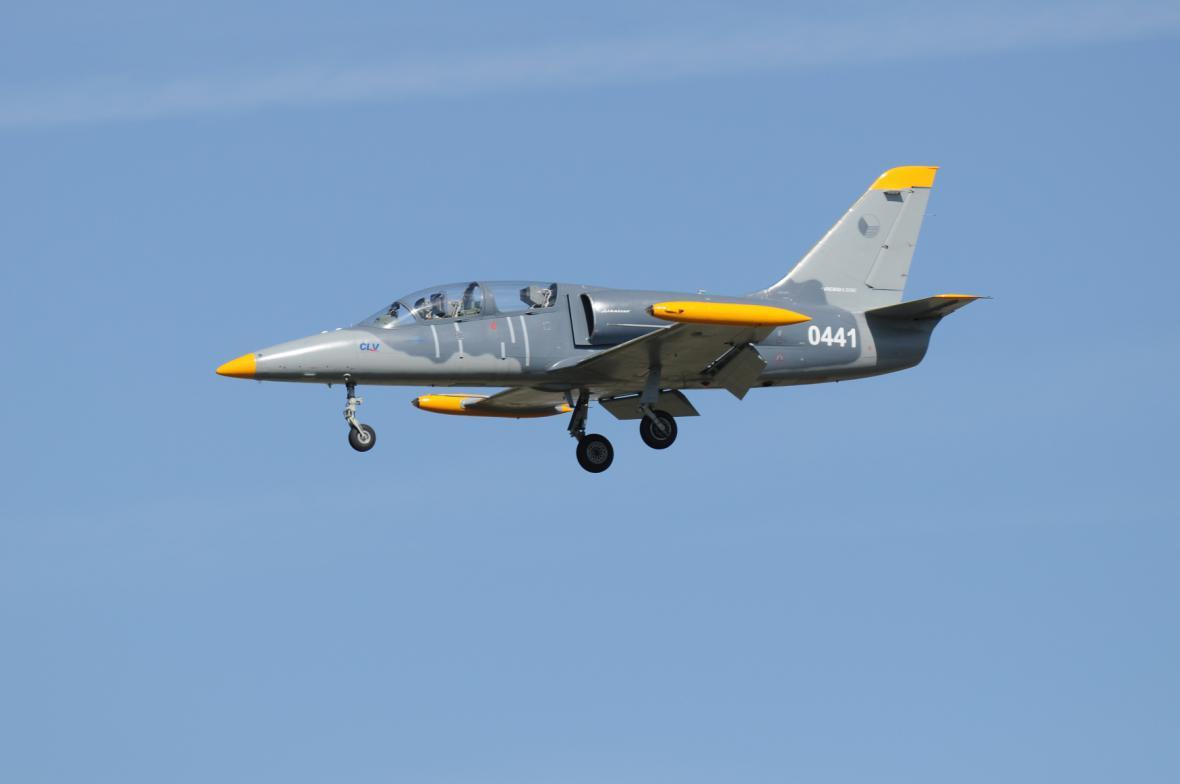 L-39 Albatros při výcviku