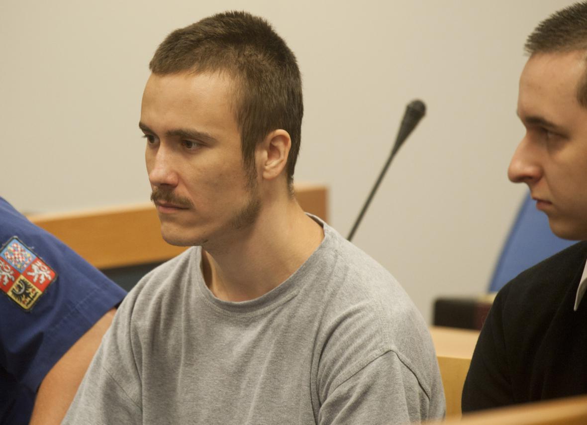 Maroš Straňák před soudem