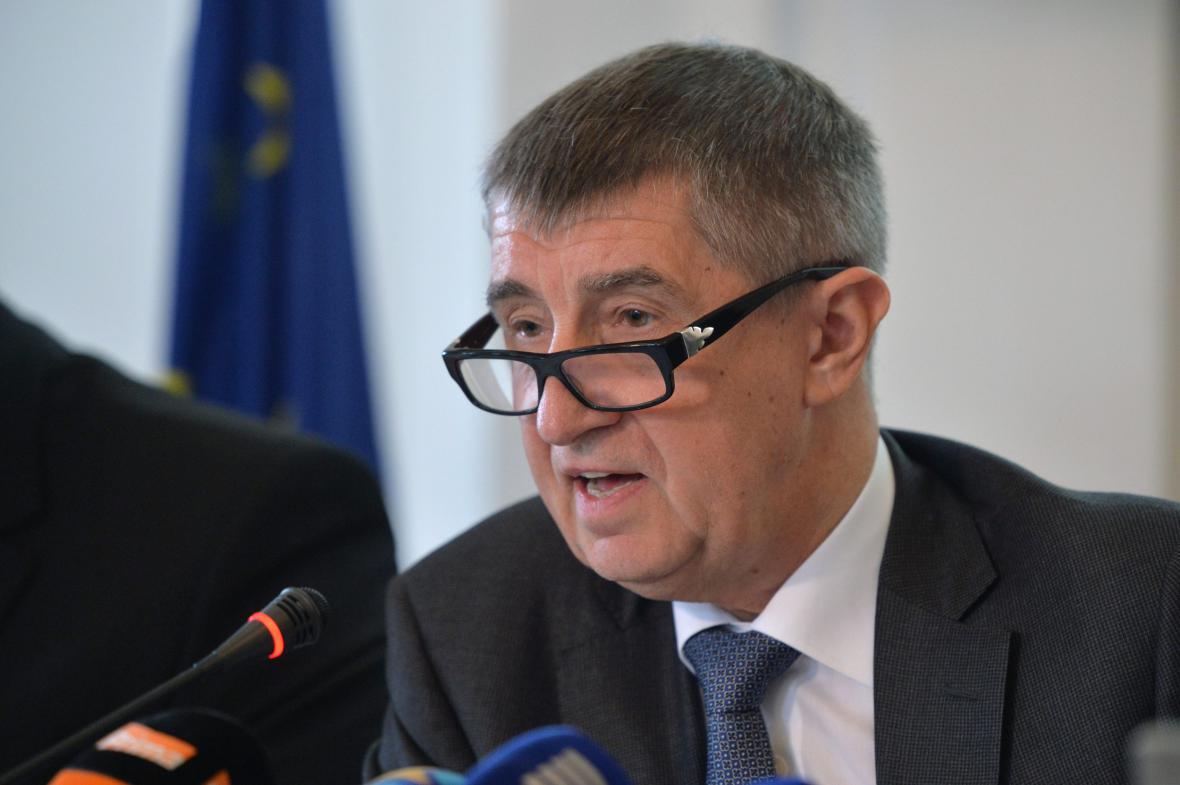 Ministr financí Andrej Babiš (ANO)