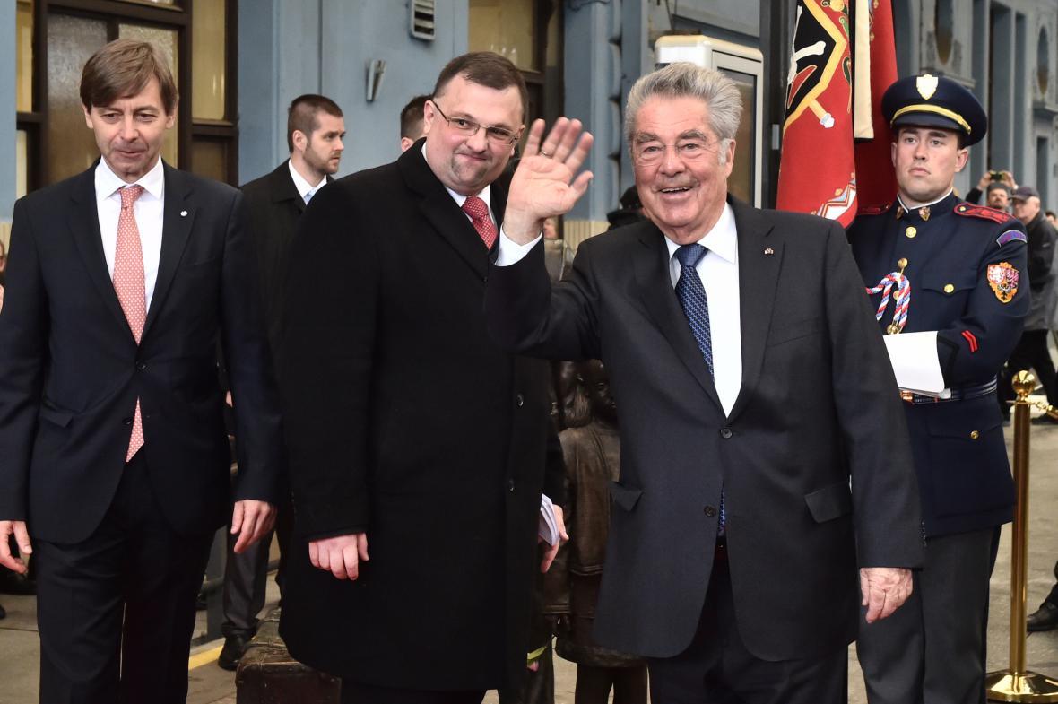 Jindřich Forejt a Heinz Fischer